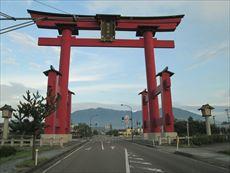 弥彦神社大鳥居