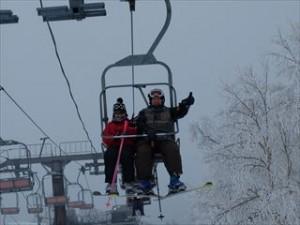 苗場スキー場山頂リフト