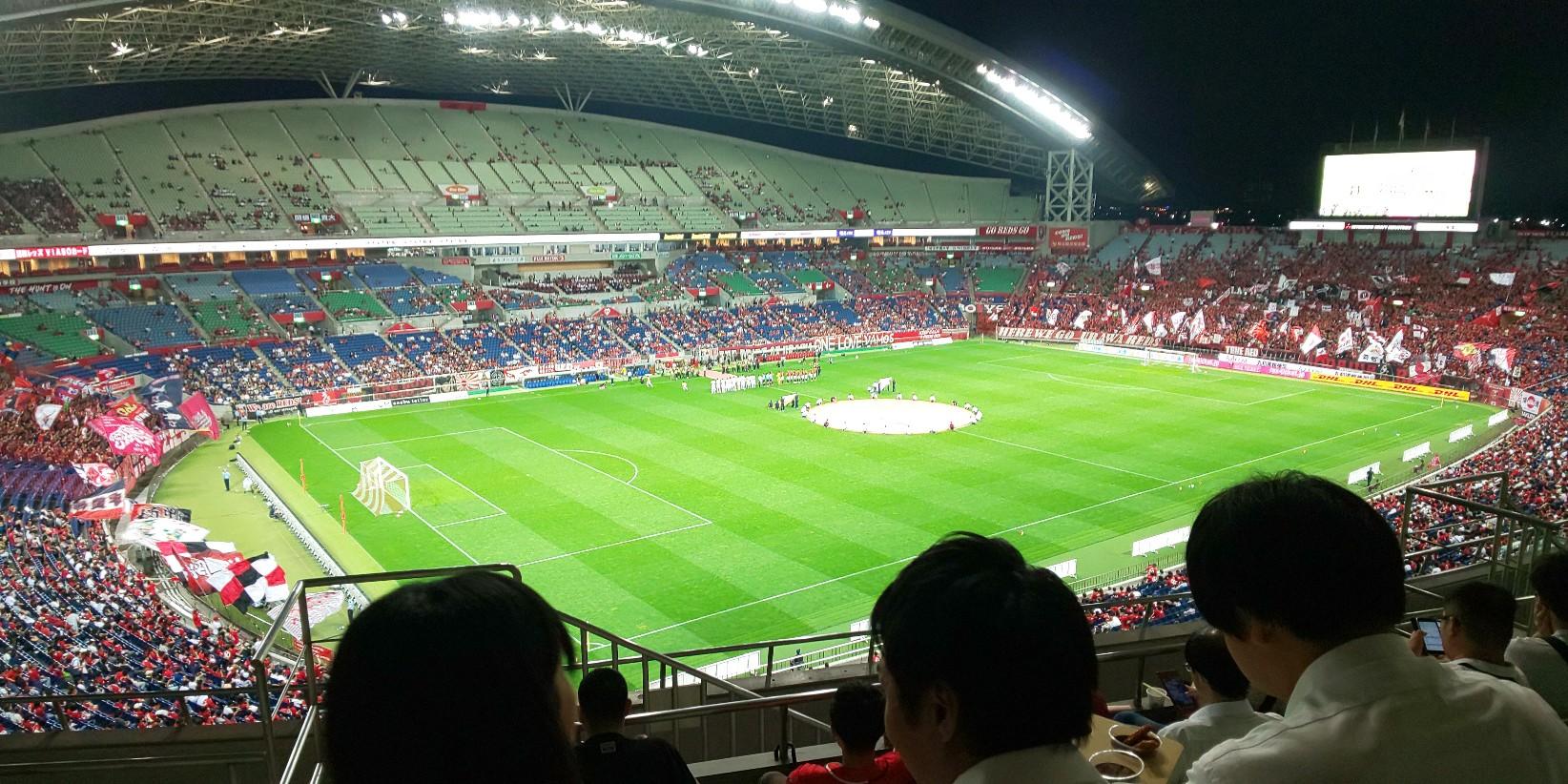 ルヴァンカップ鹿島アントラーズ戦(埼スタ)